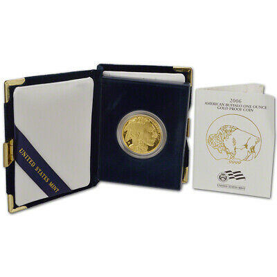 2006-W American Gold Buffalo Proof (1 oz) $50