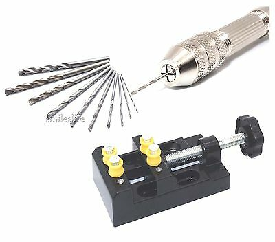 New Modeling Drilling Hand Twist Drill and Plier Holder Polymer Clay Gimlet Kit