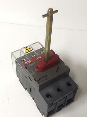ABB OT80E3 Disconnect Load Break Switch 80A 415V 3P USED WORKING