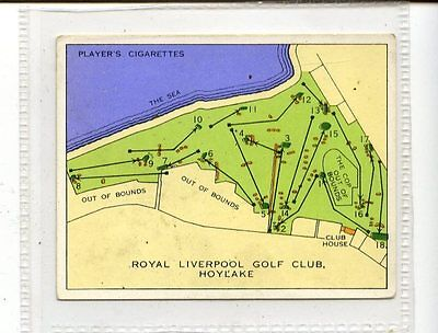 (Jc5627-100)  PLAYERS,CHAMPIONSHIP GOLF COURSES,ROYAL LIVERPOOL,1936,#2