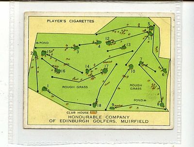 (Jc5629-100)  PLAYERS,CHAMPIONSHIP GOLF COURSES,HONOURABLE COMPANY,1936,#3