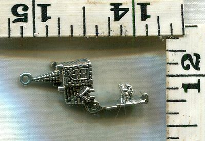 Vintage Sterling Bracelet Charm~This Opening Church Is Just $14.99........