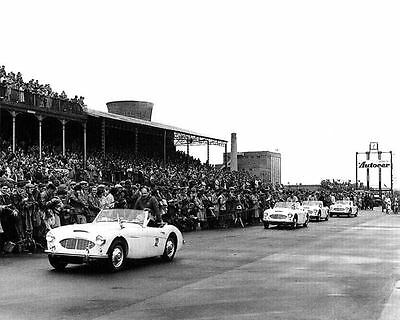 1957 Austin Healey 100-6 Race Car Factory Photo ua1873-VBN4OA