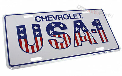 NEW!! GENUINE CHEVROLET LICENSE PLATE ALUMINUM STAMPED METAL AUTO//CAR//TRUCK TAG