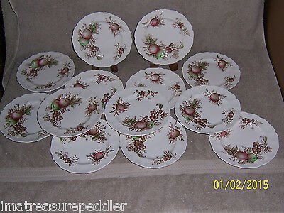 "Johnson Brothers 13 Harvest Time 6 1/4"" Bread Plates"