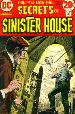SECRETS OF THE SINISTER HOUSE #12 F, Horror, DC Comics 1973