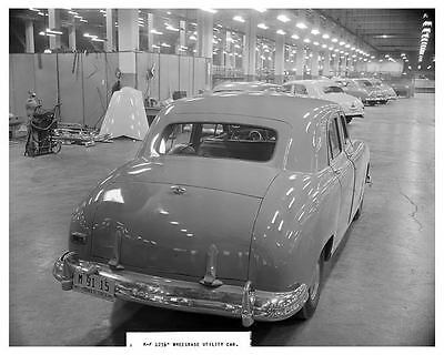 1949 Kaiser Frazer Experimental Utility Car Factory Photo ua8855-5OWC8O
