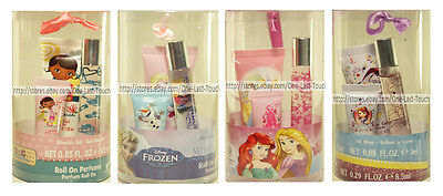 AIR-VAL 3pc Gift Set DISNEY Perfume+Shower Gel+Lip Gloss HOLIDAY New*YOU CHOOSE*