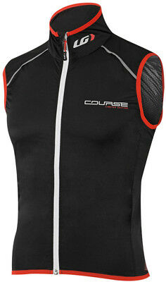 Louis Garneau Course Speedzone Vest Black/Red 2017