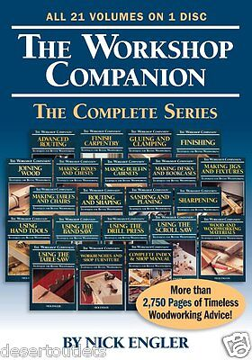The Workshop Companion The Complete Series By Nick Engler DVD-ROM