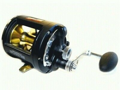 Kamikaze - KAMLD20 Lever Drag BLACK Game Fishing Reel