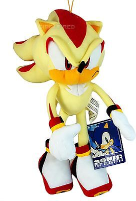 Sonic the Hedgehog Super Shadow Plush New W/ Tag Official Licensed GE Animation