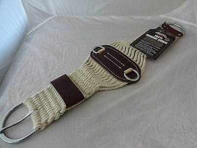 New Weaver Leather Roper Mohair Cinch 27 Strand Western Horse Saddle 28 NWT USA