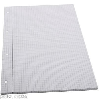 A4 x 100 Sheets Squared Paper Pad Notes Graph Grid School Writing Pad Art Craft