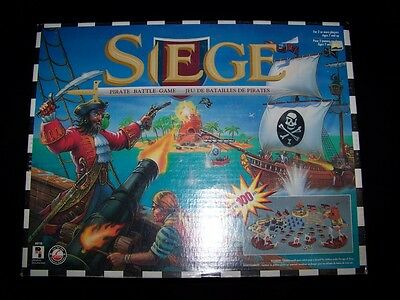 Siege Pirate Battle Game 1996 Playtoy Weapons Warriors Miniature Playtoy