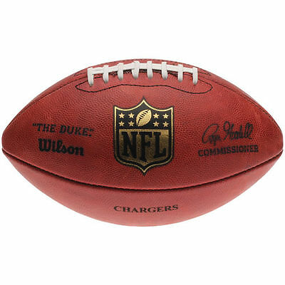 """San Diego Chargers Wilson """"The Duke"""" Official Size Replica Game Football - NFL"""