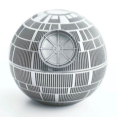Star Wars Pewter Death Star Trinket Box - Lucasfilm Approved - by Royal Selangor