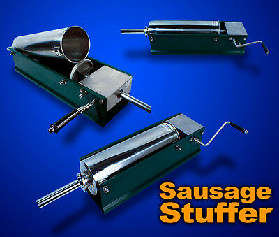 New Commercial Restaurant Countertop Stainless Steel 5L Sausage Stuffer