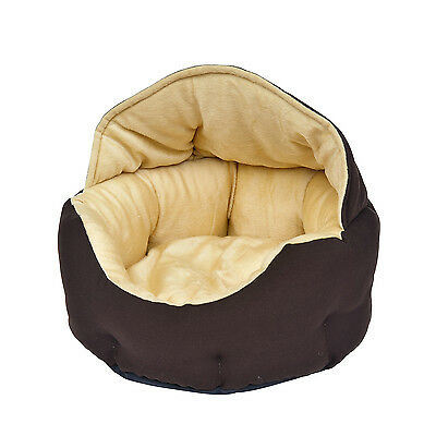 Corbeille, coussin, nid, panier pour chien chat chocolat neuf 32