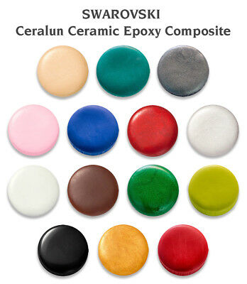 Genuine CERALUN (A+B) Two Component for SWAROVSKI Crystals * Many Colors & Sizes