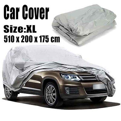 XL Auto voiture Bâche Full CAR COVER HOUSSE protection bâche p/ SUV BMW Mazda VW