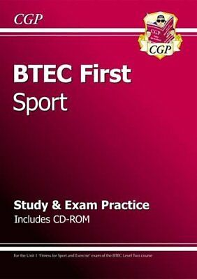 BTEC First in Sport - Study & Exam Practice with CD-Rom-CGP Books