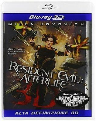Blu Ray RESIDENT EVIL - ** Afterlife 3D - (Blu-Ray 3D) ** ......NUOVO