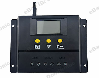 80A Solar Charge Controller 12V/24V PWM Battery Charger Regulator 960W/1920W AU