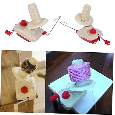 Portable Hand-Operated Yarn Winder Wool String Thread Skein Machine Tool GO