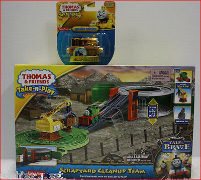 Thomas & Friends - Special EDITION GOLD THOMAS - Die-Cast Train *NEW*