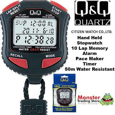 Aussie Seler Citizen Made Pro Hand Held Stop Watch Hs45J003 Rp$119.9 Warnty