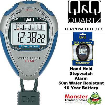 Australian Seller Citizen Made Pro Hand Held Stop Watch Hs46J002 Rp$79.95 Warnty