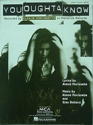 Alanis Morissette Sheet Music, 1995 - You Oughta Know