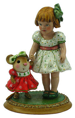 DOLL PARTY by Wee Forest Folk, WFF# M-381, Retired Christmas Mouse