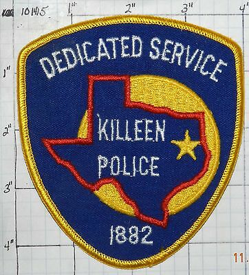 Texas, Killeen Police Dept Patch