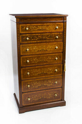 Antique Edwardian Wellington Chest by J Shoolbred c.1900