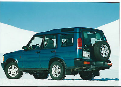 Land Rover Discovery 1998 Original Press Photograph Rear View
