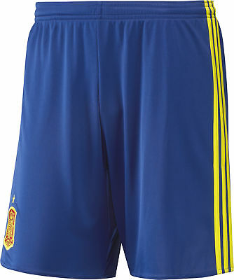 Adidas Spain Home EURO 2016 Junior Football Shorts