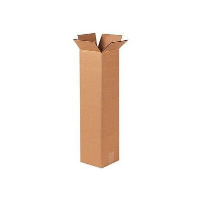 25 4x4x24 Tall Corrugated Shipping Packing Boxes