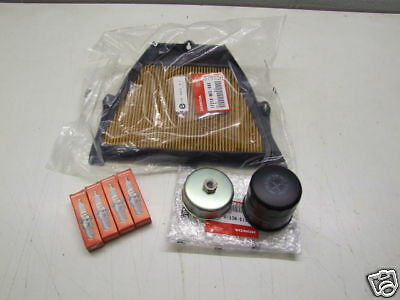 Honda CBR600RR Service Kit Filter Plugs FREE Oil Filter