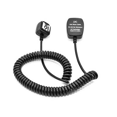 Off Camera Hot shoe Flash Extension Cord 3M for Olympus Flash TTL / FL-CB05