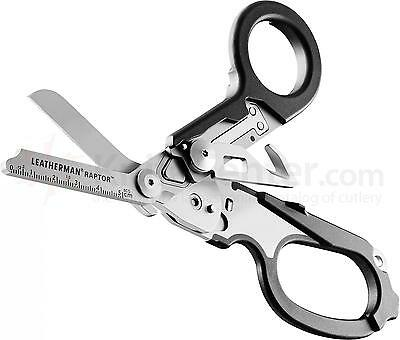 Leatherman Raptor Black Handle Medical Shears Scissors / Multi-Tool with Holster