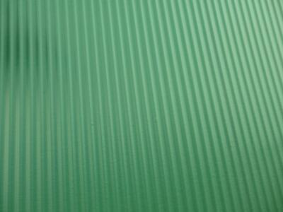 Dolls House Miniature Builders DIY Fittings Corrugated Tin Roof Sheet Green