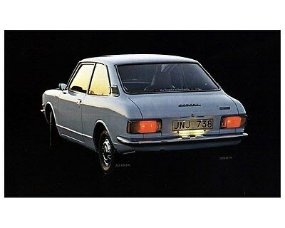 1977 Toyota Corolla 20 Factory Photo ca3898