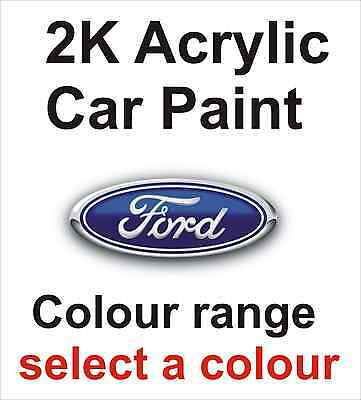 2K Acrylic Car Paint Ford Colours, Select Size And Colour