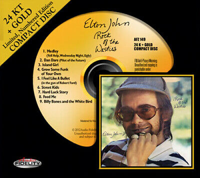 AFZ 149 | Elton John - Rock Of The Westies Gold CD oop
