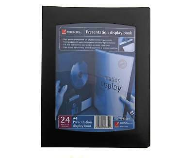 Rexel Presentation Display Book A4 24 Pockets
