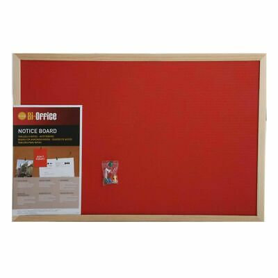 Bisilque Felt Notice Board 600x400mm
