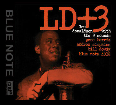 AUDIO WAVE | Lou Donaldson with The Three Sounds - LD+3 CD XRCD NEU