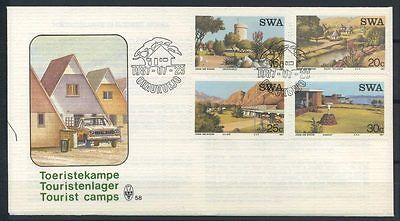 15-11-00475 - South West Africa 1987 Mi.  609-612 FDC 100% Tourism